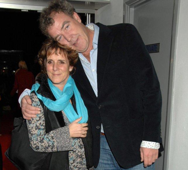 Jeremy Clarksonas su žmona Frances