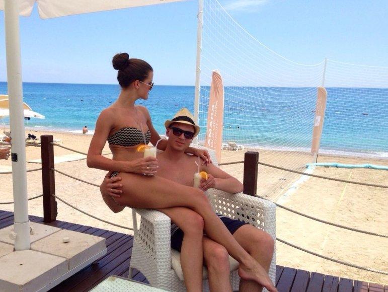 """""""Bikinio porelė"""" Ernesta ir Andrius: išdykusi jaunavedžių pora"""