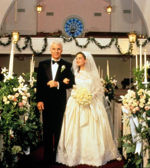 """Steve'as Martinas ir Kimberly Williams-Paisley filme """"Nuotakos tėvas"""""""