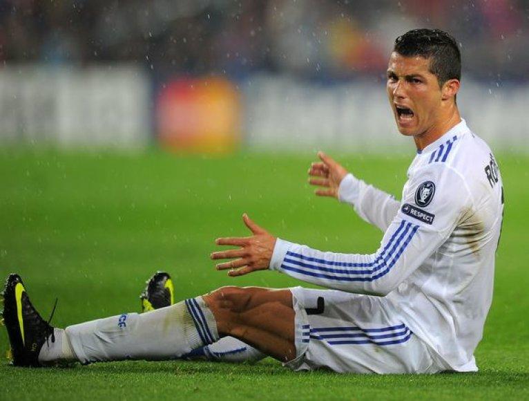 C.Ronaldo pyktis