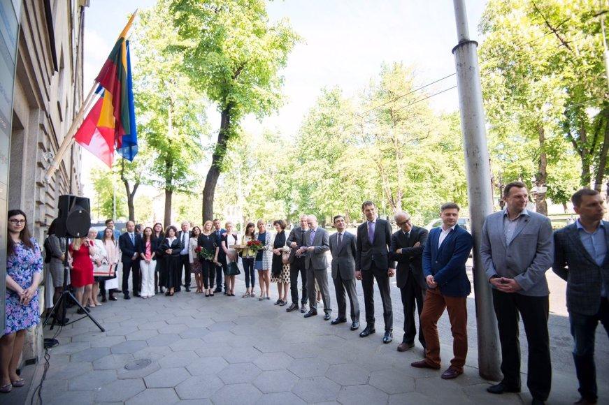 Kaune duris atvėrė Portugalijos garbės konsulatas