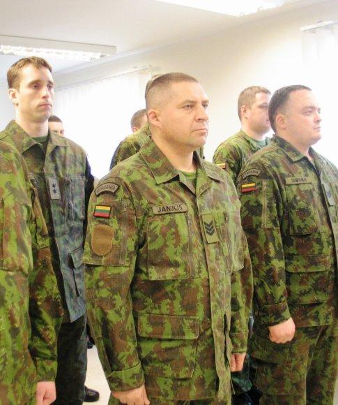 Judėjimo kontrolės centro vyr. seržantas Vaidotas Janulis