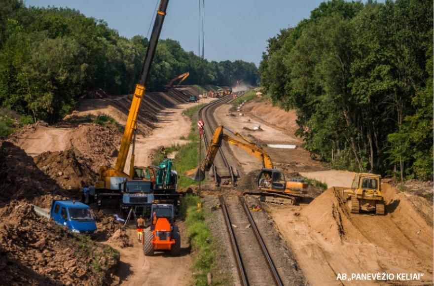 Eismo pertraukos suteikiamos tik tuomet, kai eksploatuojamos linijos atkarpą reikia demontuoti, rekonstruoti sankasą, įrengti viršutinę kelio konstrukciją, pakloti naują geležinkelio gardelę.