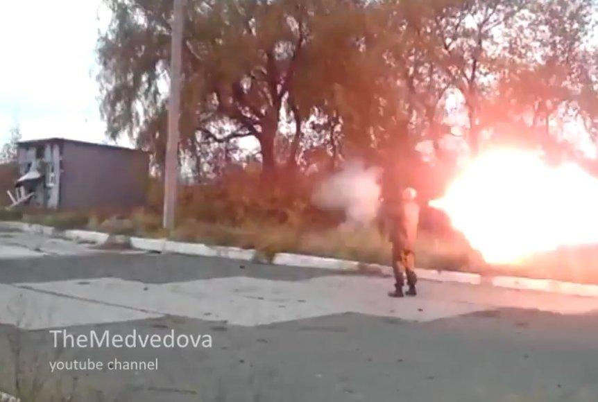 Rusijos smogikų pramoga – naikinti Ukrainos turtą