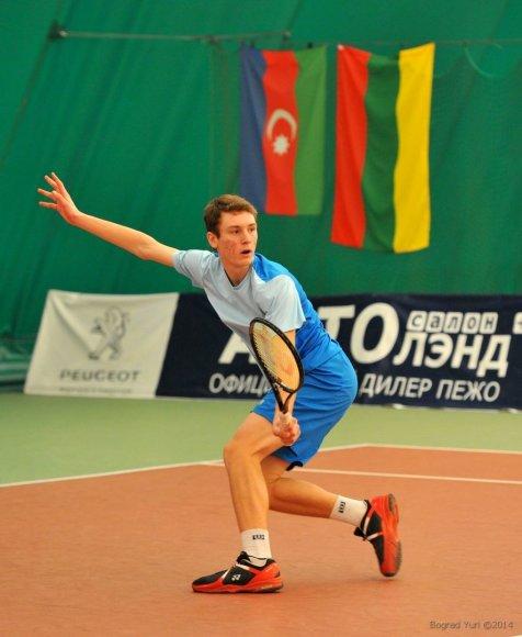 Tenisininkas Tomas Vaišė