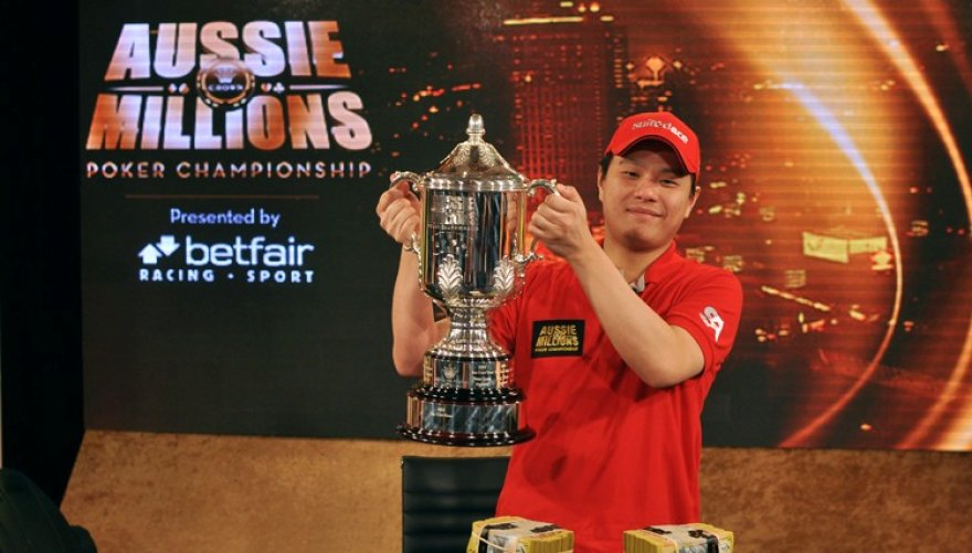 """Mervinas Chanas – 2013 metų """"Aussie Millions"""" laimėtojas"""