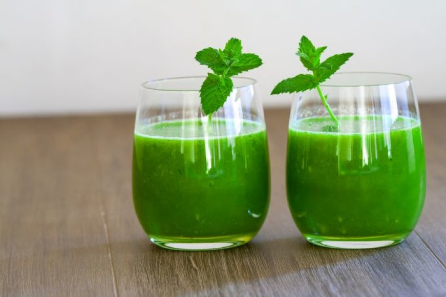 Kviečių želmenų sultys - puikus antioksidantas
