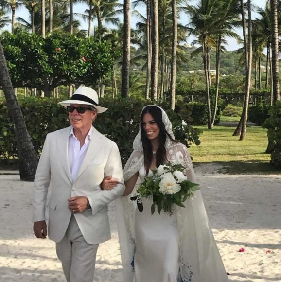 Tommy Hilfigeris su dukra Ally Hilfiger