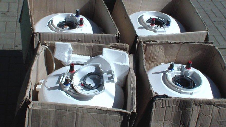 Vilkaviškyje pasieniečiai aptiko elektriniuose vandens šildytuvuose paslėptas kontrabandines cigaretes
