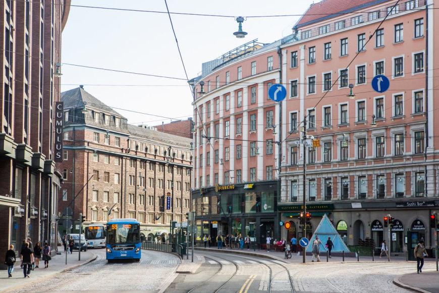 "Kelto ""Viking Line"" kajutė / Turas po Helsinkį / Gyčio Vidžiūno nuotr."