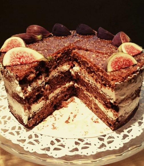 Figų tortas