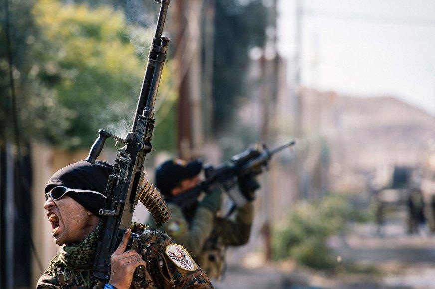 Irako pajėgos pasiekė Tigro upę Mosule
