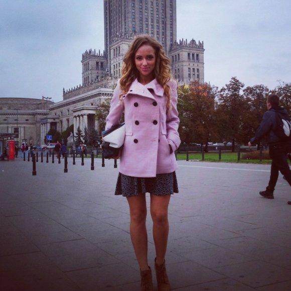 Monikos Šalčiūtės savaitgalio Varšuvoje akimirka