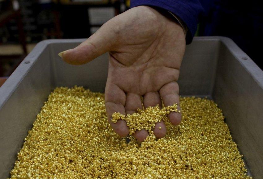 Aukso granulės