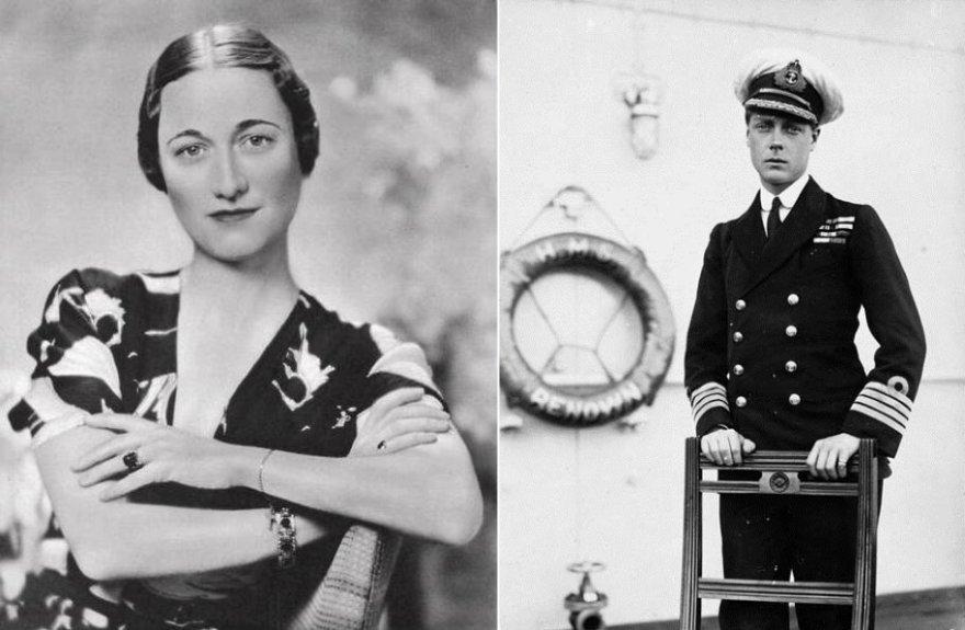 Wallis Simpson ir Vindzoro hercogas Edwardas
