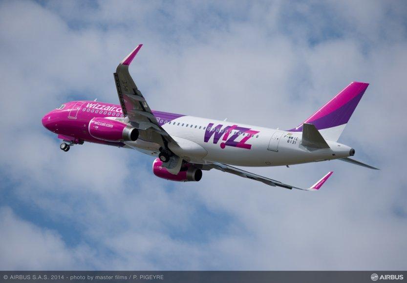"""Wizz Air"" lėktuvas"