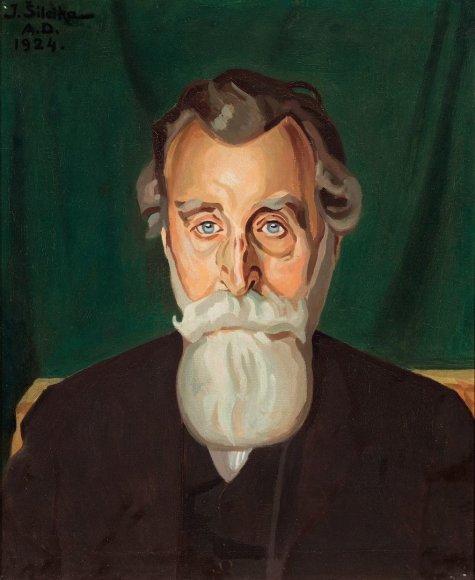 Jono Basanavičiaus portretas