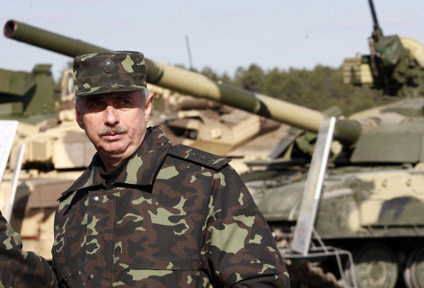 Ukrainos gynybos ministras Michailas Kovalas