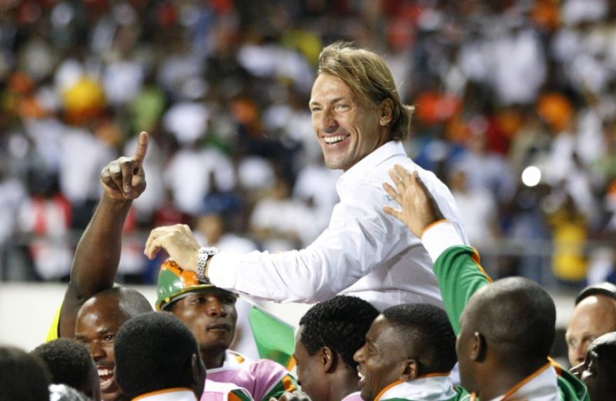Herve Renardas tirumfuoja su Zambijos rinktine