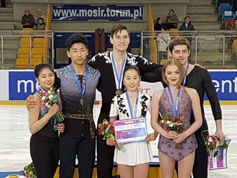 G.Butkutė ir N.Jarmolajevas užėmė trečiąją vietą Lenkijoje