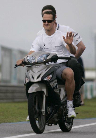 Michaelis Schumacheris 2010-ųjų balandį