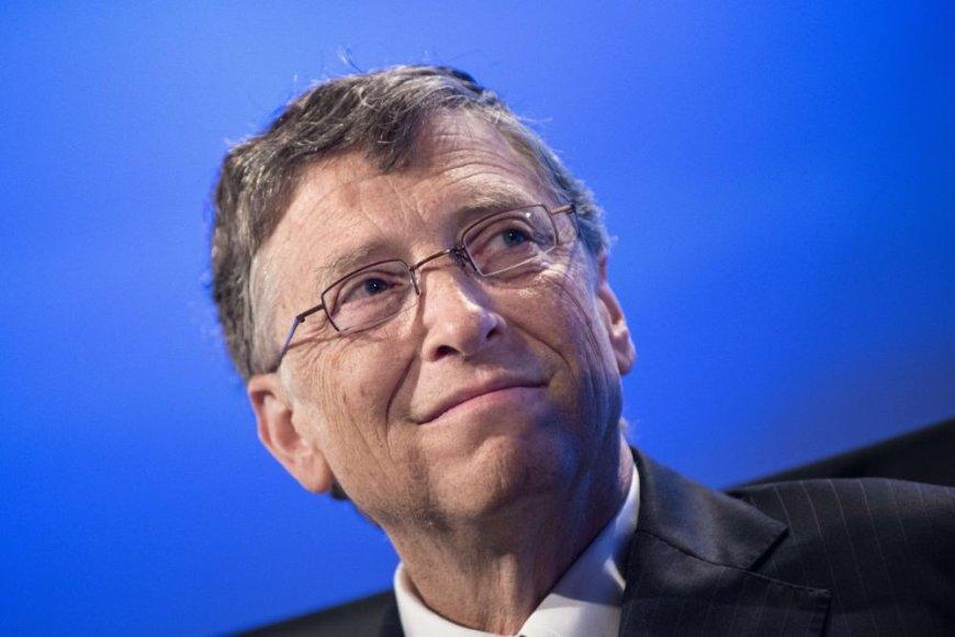 """""""Microsoft"""" įkūrėjas ir valdybos pirmininkas Billas Gatesas"""