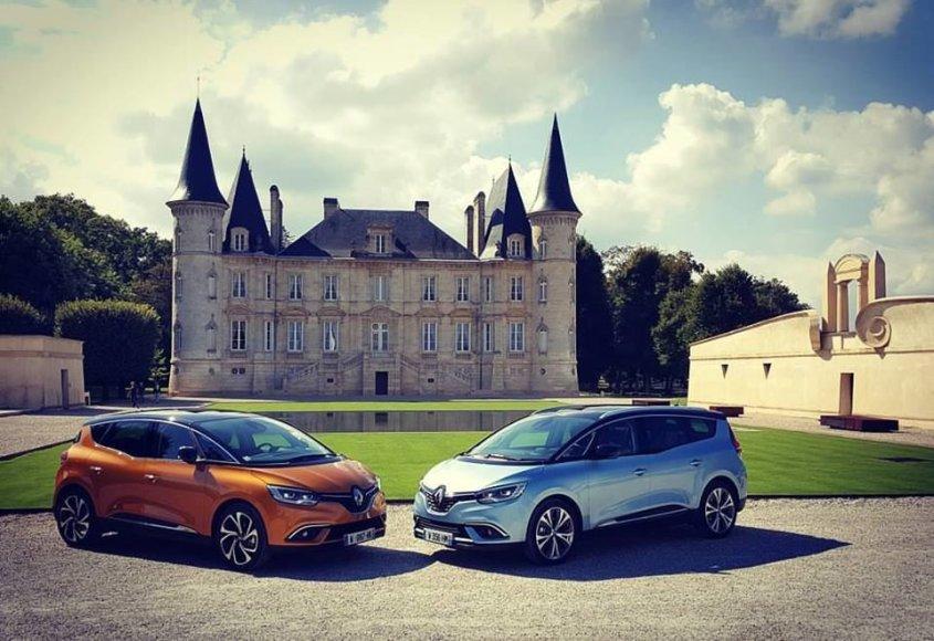 """""""Renault Scenic"""" pristatymas Prancūzijoje"""