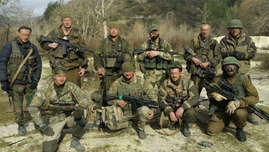 Rusų kariai Sirijoje