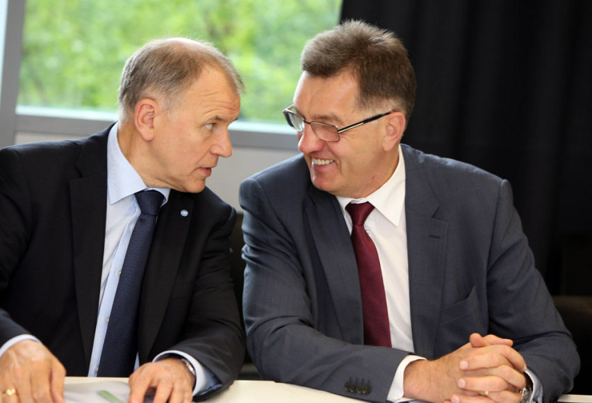 Vytenis Povilas Andriukaitis ir Algirdas Butkevičius