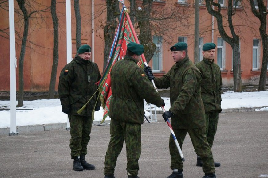 Pasikeitė Didžiosios kunigaikštienės Birutės ulonų bataliono vadas
