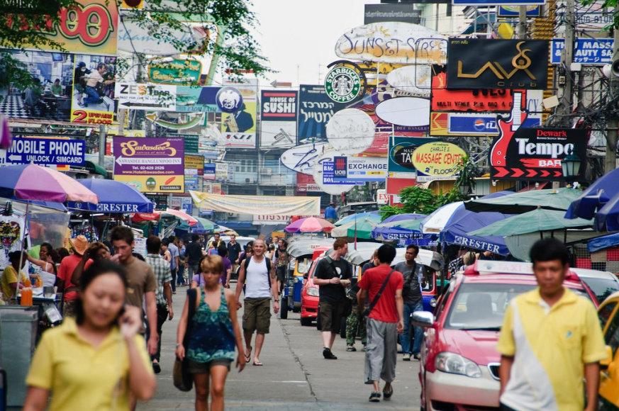 Sukčių pinklės turistų laukia daug kur pasaulyje