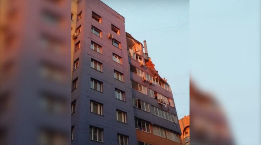 Rusijos daugiabutyje – dujų sprogimas.