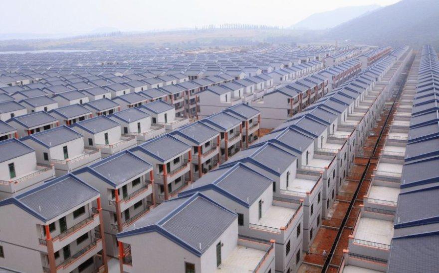 Naujasis namų kvartalas Daduno kaime