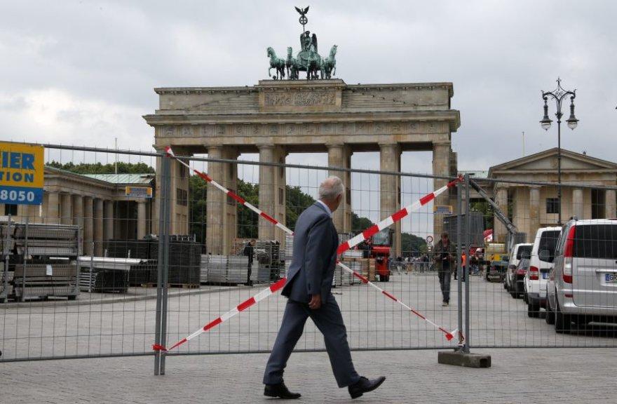 Berlynas rengiasi Baracko Obamos viešnagei.