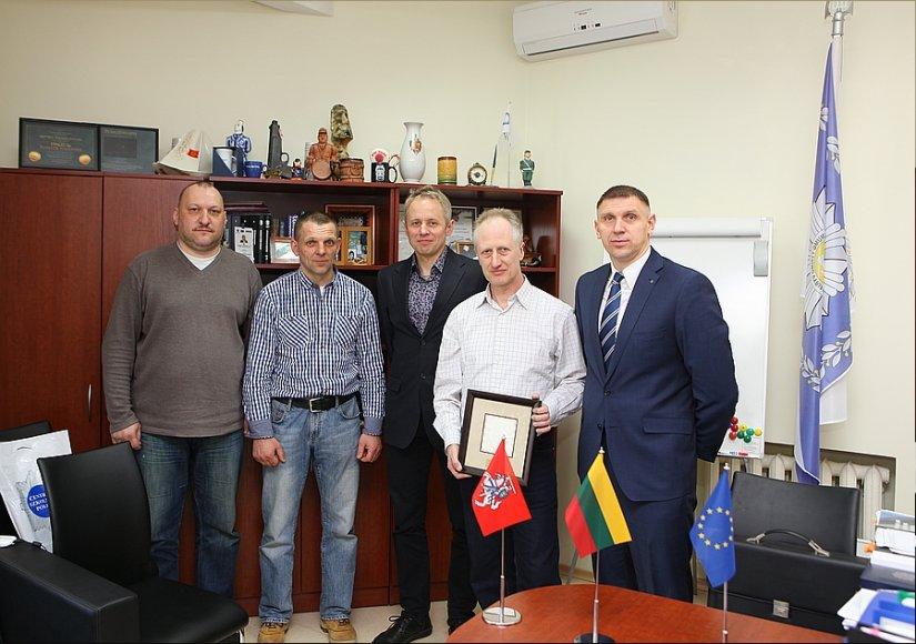 Lietuvos kriminalinės policijos biuro vadovų ir kriminalistų profesinės sąjungos atstovų susitikimas