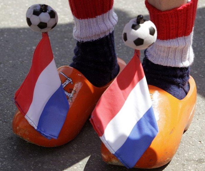 Olandijos futbolo gerbėjo klumpės