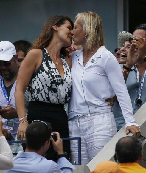 Martina Navratilova ir Julija Lemigova