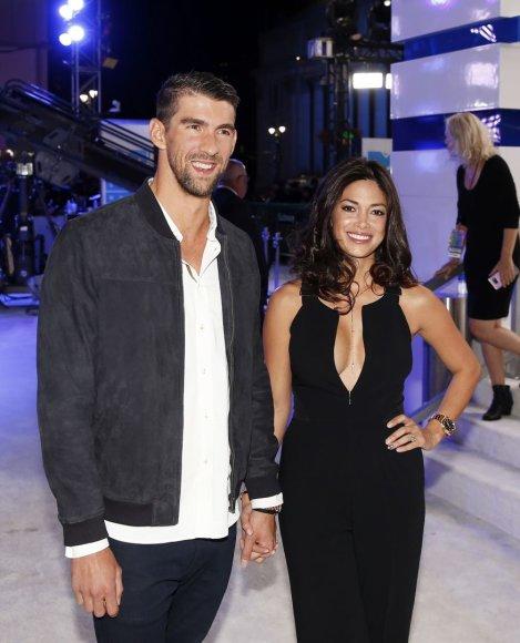 Michaelas Phelpsas ir Nicole Johnson