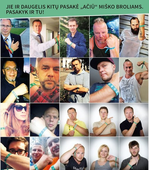 Žaliųjų juostelių ambasadoriai