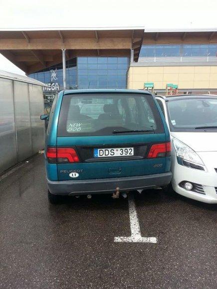 Megos parkingas