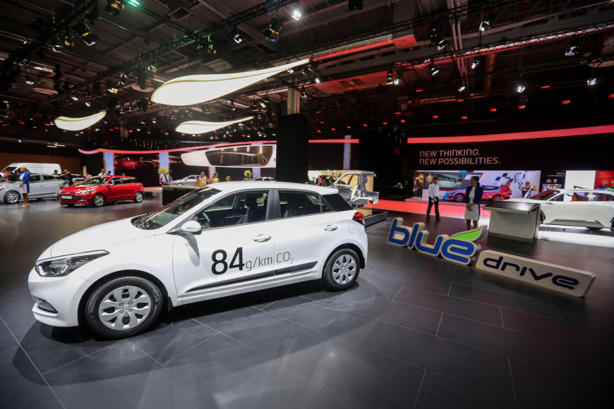 """""""Hyundai"""" mažylio i20 debiutas Paryžiuje"""