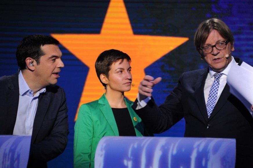 Briuselyje surengti kandidatų į Europos Komisijos pirmininko postą debatai