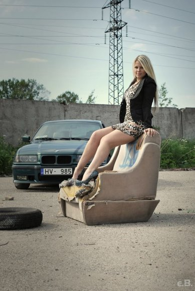 Sabine Andriksone iš Latvijos