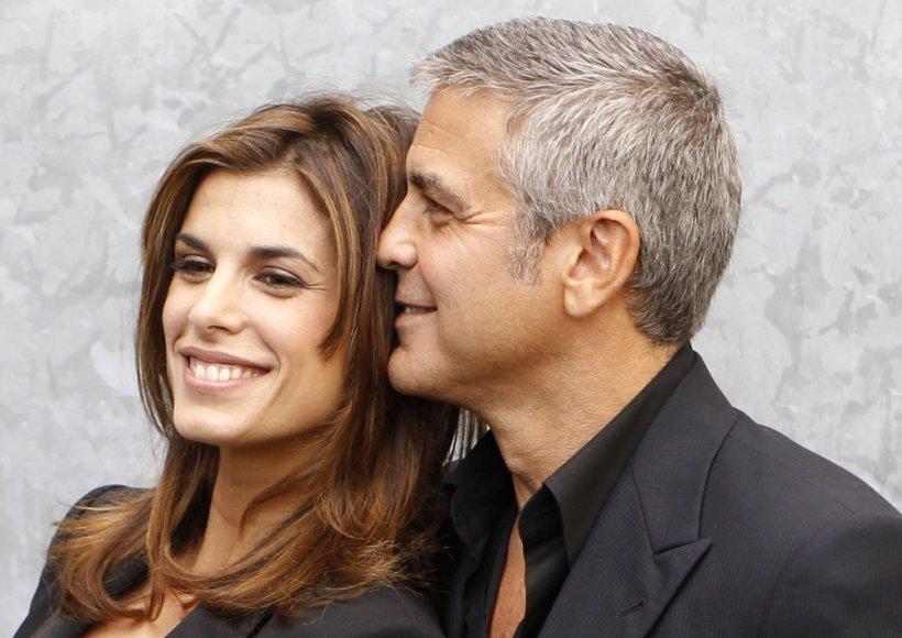 Elisabetta Canalis ir George'as Clooney 2010-aisiais