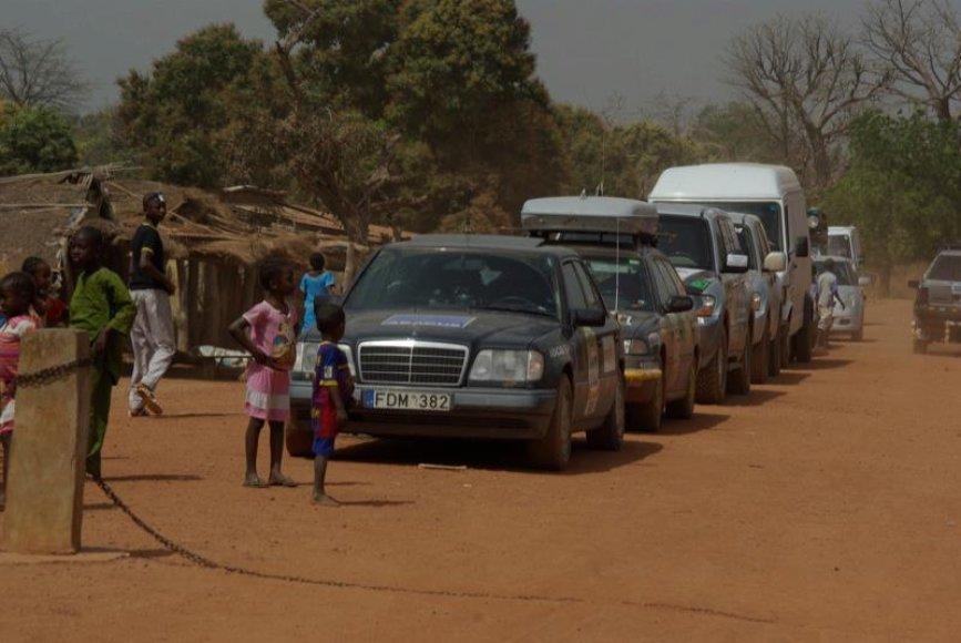 Paskutinės ralio Budapeštas-Bamakas dienos