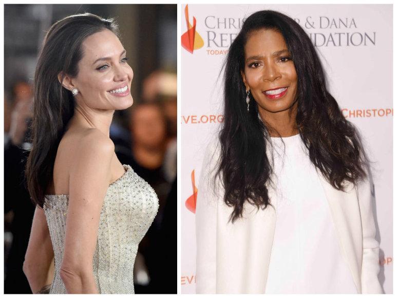 Angelina Jolie ir Judy Smith