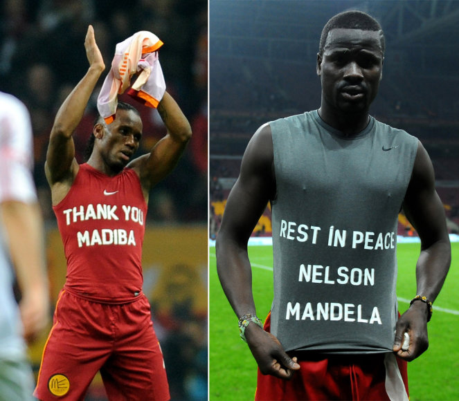 Didieris Drogba ir Emmanuelis Eboue
