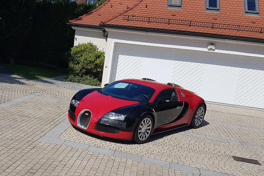 "Parduodamas ""Bugatti Veyron"""