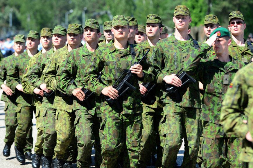 Lietuvos valstybei priesaiką davė 86 kariuomenės naujokai