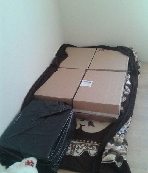 Šilutiškė iš kontrabandinių cigarečių susikonstravo lovą